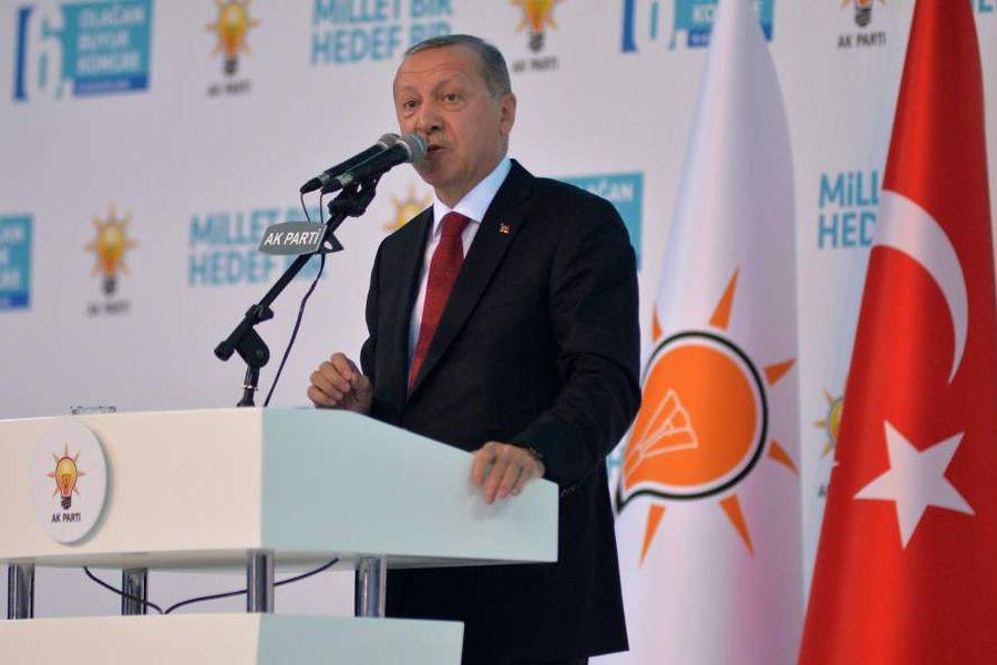 AKP party congress in Ankara