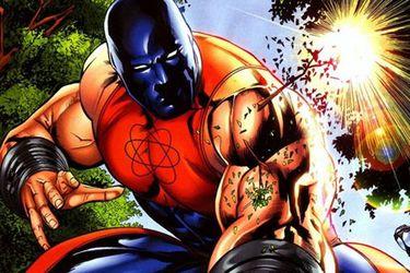 Atom Smasher será parte de la película de Black Adam que protagonizará The Rock