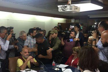 Viña del Mar: Concejo municipal es desalojado por incidentes tras lectura de millonario informe de déficit