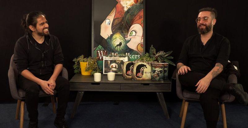 Víctor Paredes: el chileno detrás de la elogiada Wolfwalkers - La Tercera