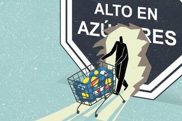 Efecto de la Ley de Etiquetado: Compra de bebidas azucaradas disminuyó un 24%