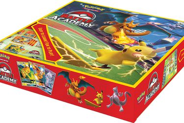 Las cartas coleccionables de Pokémon se convierten en un juego de mesa con Pokémon Battle Academy