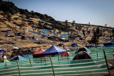 Protestas y un municipio de manos atadas: los riesgos y conflictos que rodean la toma del cerro Renca