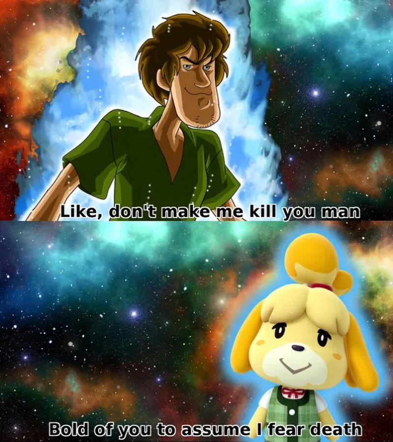 El poder de Shaggy de Scooby-Doo es el primer meme ...