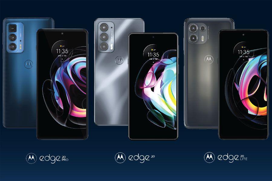 Motorola expande su apuesta con los nuevos Moto Edge 20 Pro, 20 y 20 lite -  La Tercera