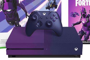 Así sería la nueva Xbox One S para los fanáticos de Fortnite