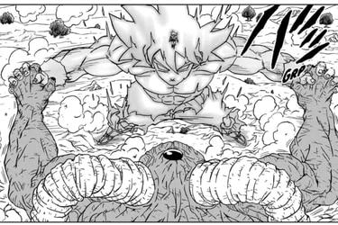 Manga de Dragon Ball Super: Gokú ahora tiene un poder como el Susanoo de los Uchiha