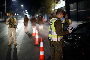 Carabineros: casi 65% de los detenidos y conducidos durante la última semana de mayo corresponden a infractores de las medidas sanitarias