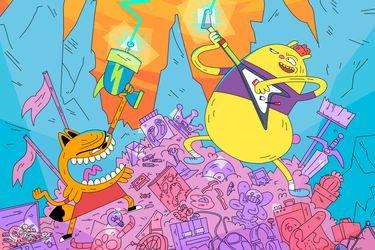 Cartoon Network estrenará la miniserie chilena La leyenda de Zeta & Ozz
