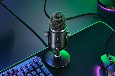 Razer presentó al Seiren V2 Pro y Seiren V2 X, sus nuevos micrófonos para streamers