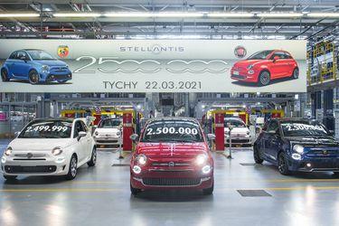 Otro hito para el Fiat 500: la planta de Fiat en Polonia celebra 2,5 millones de unidades fabricadas