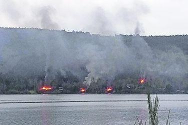 Cinco casas quemadas marcan nueva jornada de violencia en La Araucanía-Biobío