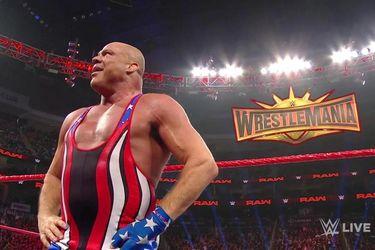 Kurt Angle está entre los diez luchadores que despidió la WWE para reducir sus gastos por el coronavirus