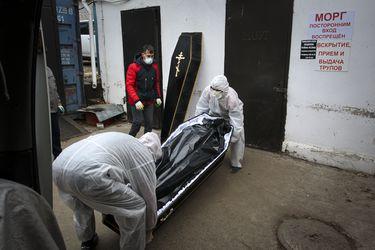Rusia vuelve a superar récord de contagios y fallecidos por la pandemia