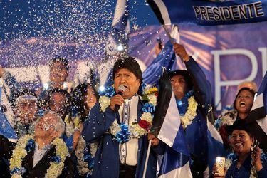 Morales felicita a Fernández tras su triunfo en Argentina y le agradece apoyo previo