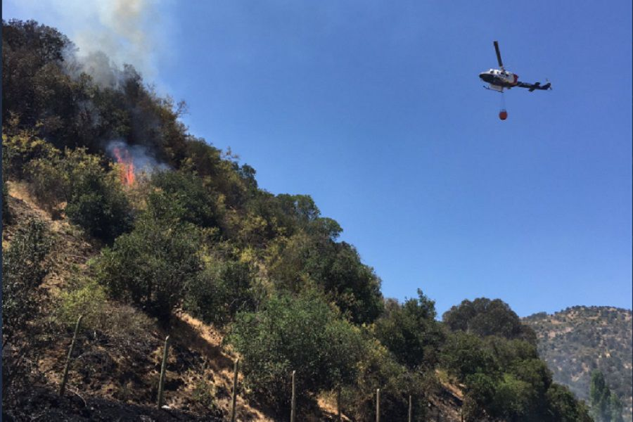 incendio Santa Cruz