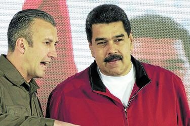 PDVSA Board Of Directors Meeting As Maduro Hands Wide-Ranging Powers to Venezuela's Vice President