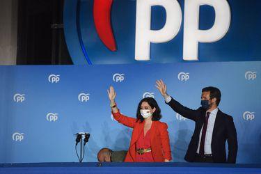 Isabel Díaz Ayuso arrasa en elecciones regionales de Madrid y Pablo Iglesias anuncia su retiro de la política