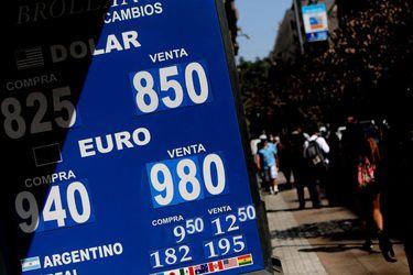 Dólar registra violenta caída frente al peso chileno gracias a salto del cobre y mejora en los mercados