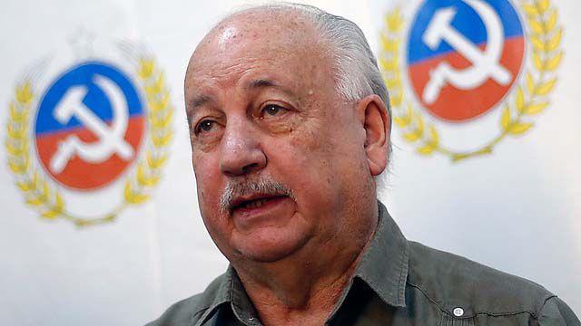 Guillermo Teillier intentará llegar al Senado, cerrando su etapa como diputado y presidente del PC.