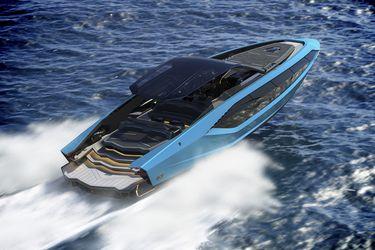 El exclusivo yate con dos motores V12 que llega para celebrar el aniversario de Lamborghini