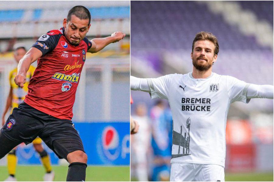 Anderson y Santos ficharon por la Universidad de Chile y Colo Colo, respectivamente.