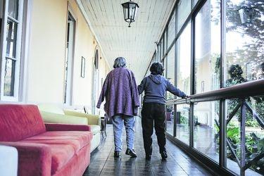 Personas mayores en pandemia