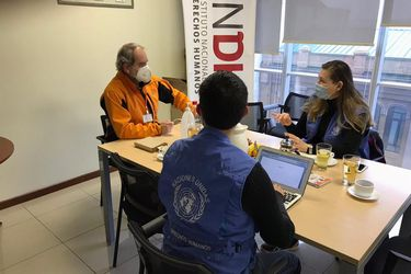 Delegados del Alto Comisionado de DD.HH. de la ONU sostienen contacto con machi Celestino Córdova en medio de visita a La Araucanía para monitorear conflicto