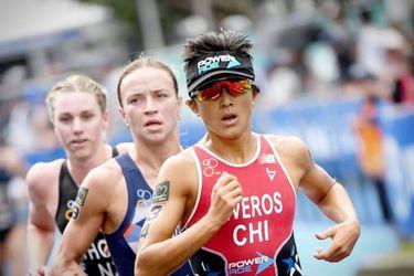 Bárbara Riveros es segunda en el Nepean Triathlon 2020