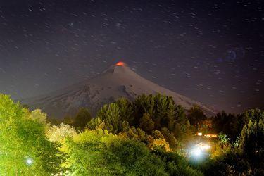 volcan villarrica enero 2019 Agencia UNO