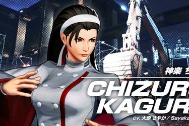 Chizuru Kagura es la protagonista del nuevo adelanto de The King of Fighters XV