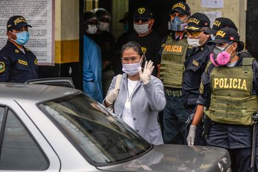 Perú: Líder opositora Keiko Fujimori sale de la cárcel tras cumplir tres meses de prisión preventiva