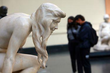Una vista al Bellas Artes en pandemia: con hora agendada, ruta demarcada y solo dos salas