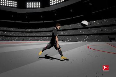 En versión animada: la Bundesliga destaca golazo de Charles Aránguiz