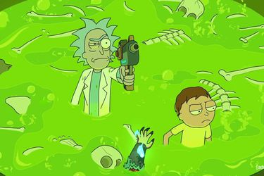 Rick and Morty superó a BoJack y Los Simpson para ganar el Emmy como mejor serie animada