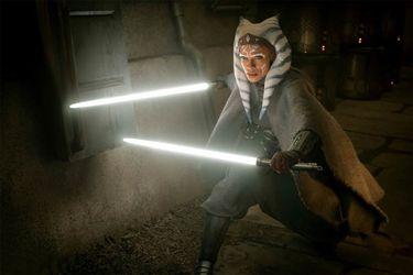George Lucas estuvo en el set de The Mandalorian mientras Rosario Dawson interpretó a Ahsoka Tano