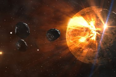 Un objeto enorme se acerca al Sol en una órbita de 612.000 años