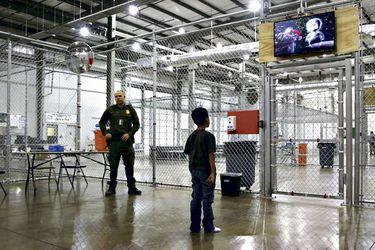 John Moore, un fotógrafo en la frontera de EEUU