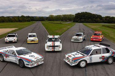 Siete piezas históricas del Grupo B del WRC salen a remate en Francia