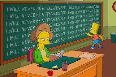 Los Simpson trajeron de regreso a Edna Krabappel para homenajear a la actriz que la interpretó