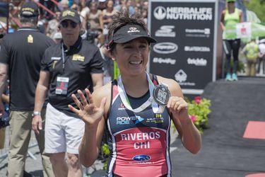 Bárbara Riveros alcanza el Pentacampeonato del Ironman