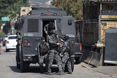 Al menos 25 muertos en operación antidroga en favela de Río de Janeiro