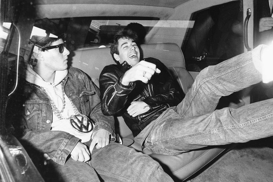 Mike D And Adam Yauch