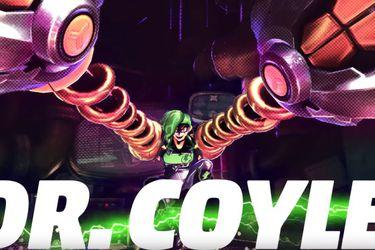 Conoce a Dr. Coyle la nueva luchadora de ARMS