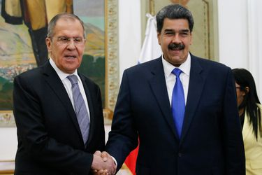 Maduro y Lavrov