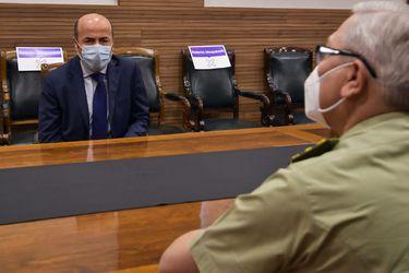General Yáñez inicia acercamientos con Contraloría y se reúne con Bermúdez