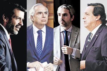 La reservada reunión entre Delgado y los exministros del Interior