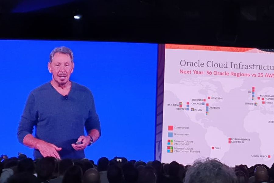 Oracle anuncia data center