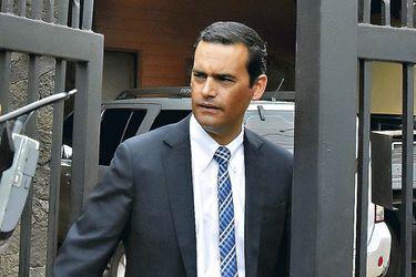 El fiscal Roberto Garrido en Temuco.