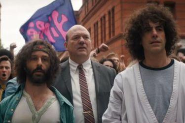 Netflix reveló un nuevo tráiler de El juicio de los 7 de Chicago